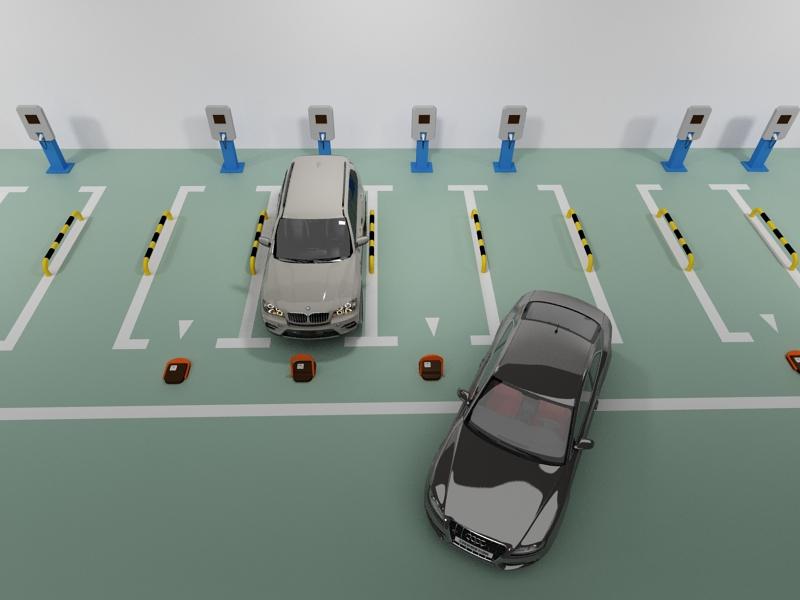 一招快速解决充电桩车位被汽油车占用