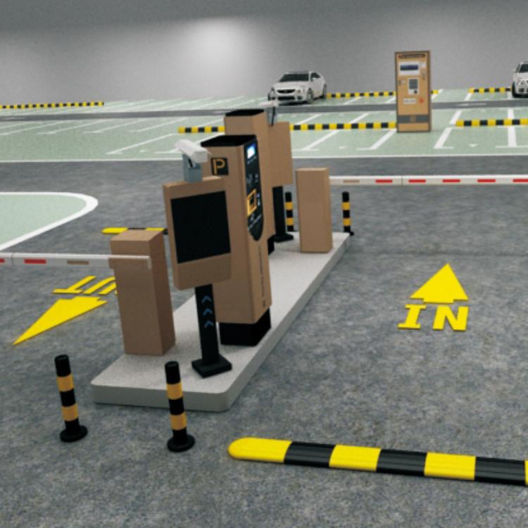 票箱,出入口停车系统,停车场系统