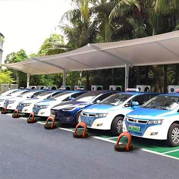 充电桩新能源车位防占用智能驻车器